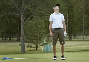 Survival guide to playing with a bad golfer