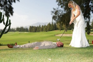 golf tips - golf with your spouse