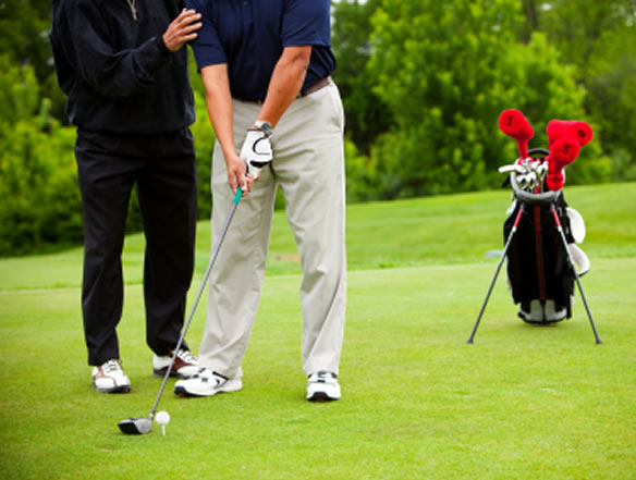 tips to beating the golf yips