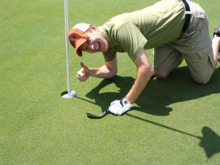 Two Inches Shy... Almost an Ace!