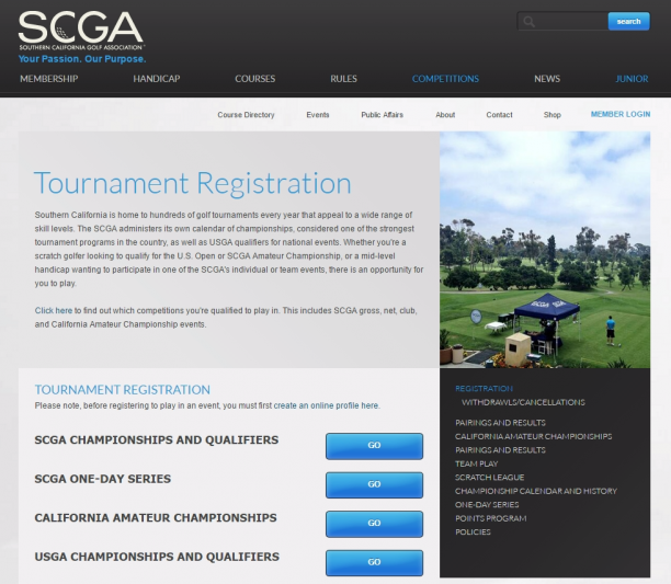 How to Apply to Play in a U.S. Championship