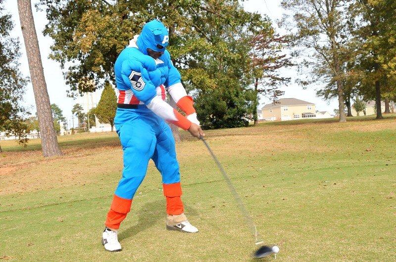 golf inspired Halloween costume