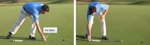 Pull Back Putting Drill
