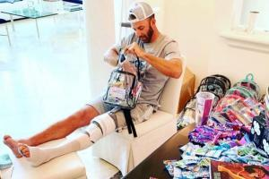 Dustin Johnson undergoes arthroscopic surgery to repair left knee cartilage damage