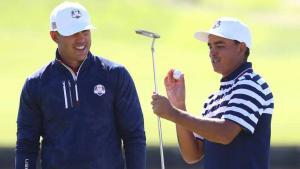Koepka withdraws from US Presidents Cup team; Rickie Fowler is replacement